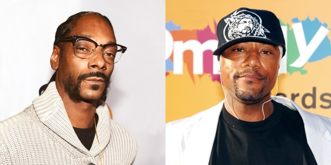 "A Fight Breaks Out At Comedian Ricky Harris Funeral After Someone Tried To Attack Rappre ""Snoop Dogg"""