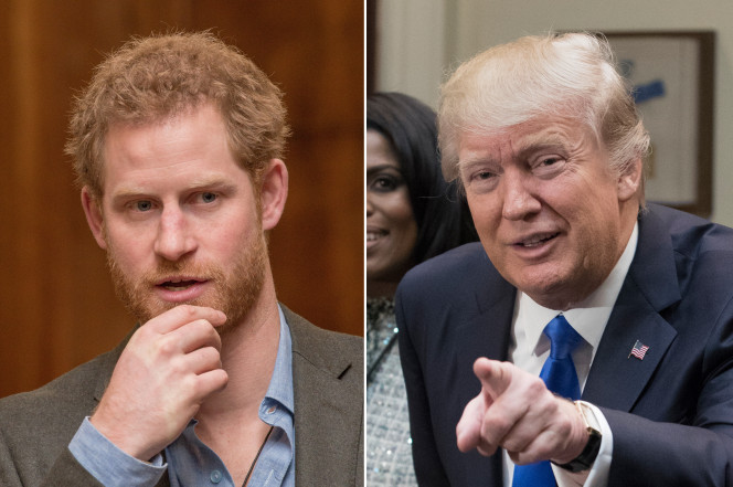 Prince Harry Says Trump Is a Serious Threat To Human Rights