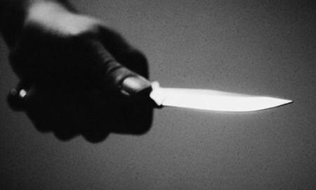 stab a man