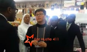 "Nation Of Islam Confronts Asian Store Owner That Beat & Kicked Black Woman Accusing Her Of Stealing ""Now You Have To Deal With Us"""