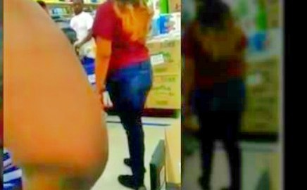 Woman Confronts Her Ex Boyfriend & His New Girlfriend At Grocery Store Attempting To Fight, New Girlfried Opened Fire [ Video]