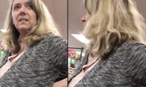 racist-woman-video