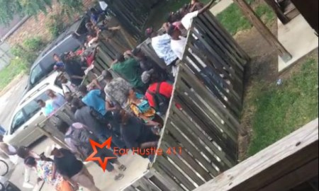 Video: Tons Of Crack Heads Show Up On West Side Of Chicago When Drug Dealer Re-Opens Crack House