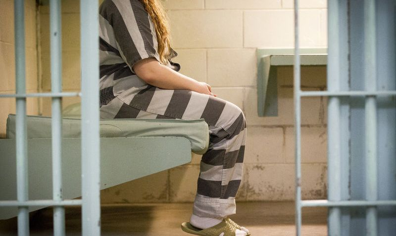 female in jail