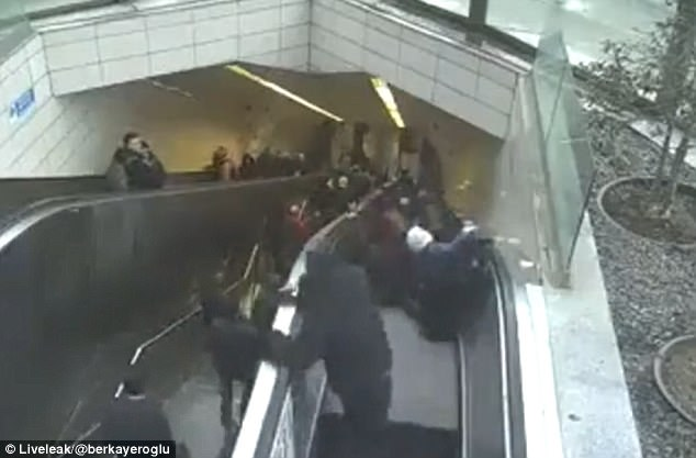 Turkish Man Gets Swallowed by Escalator After Giant Hole Appears During Rush Hour