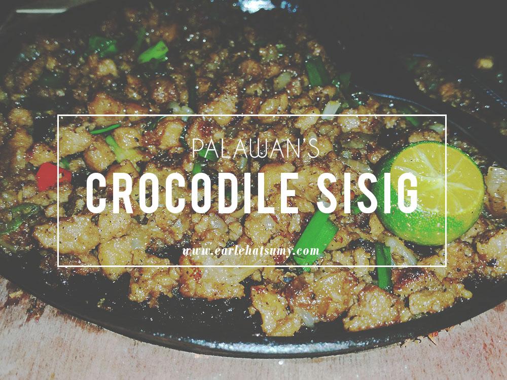 crocodile sisig palawan
