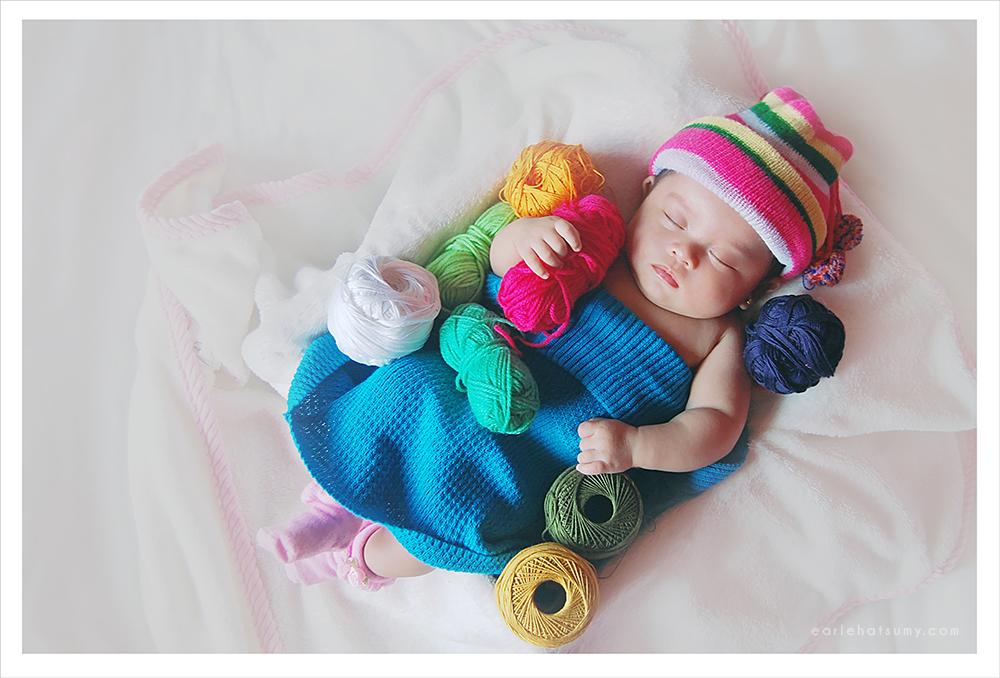 Baby hugs yarn