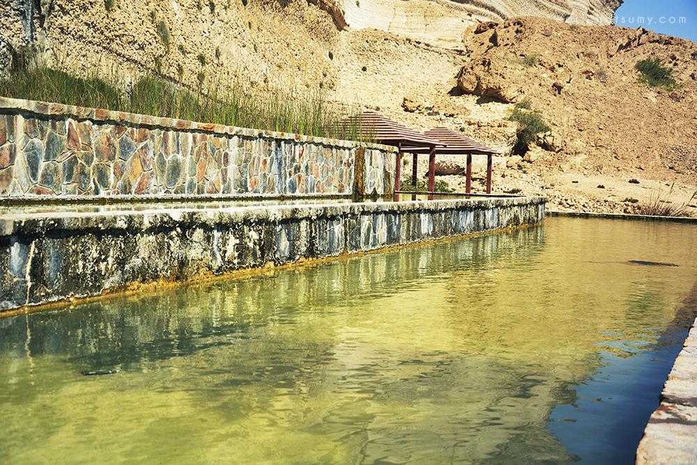 Natif waterfalls Oman