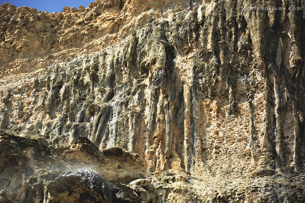 Natif waterfalls Oman