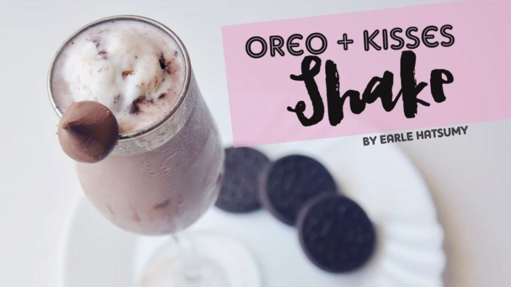 Oreo Kisses Shake by Earle Hatsumy Enriquez