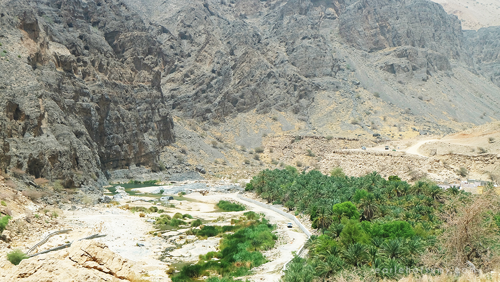 Wadi Al Arbain Muscat