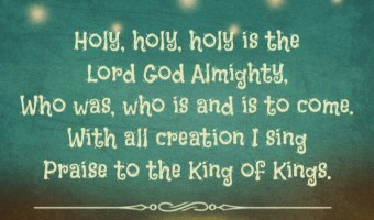 Scripture and a Song: Revelation Song