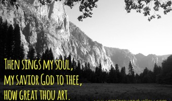 Scripture and a Song: How Great Thou Art