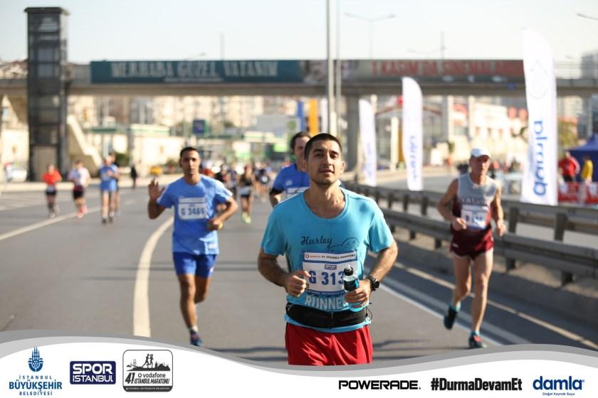 Vodafone İstanbul Maratonu Alican