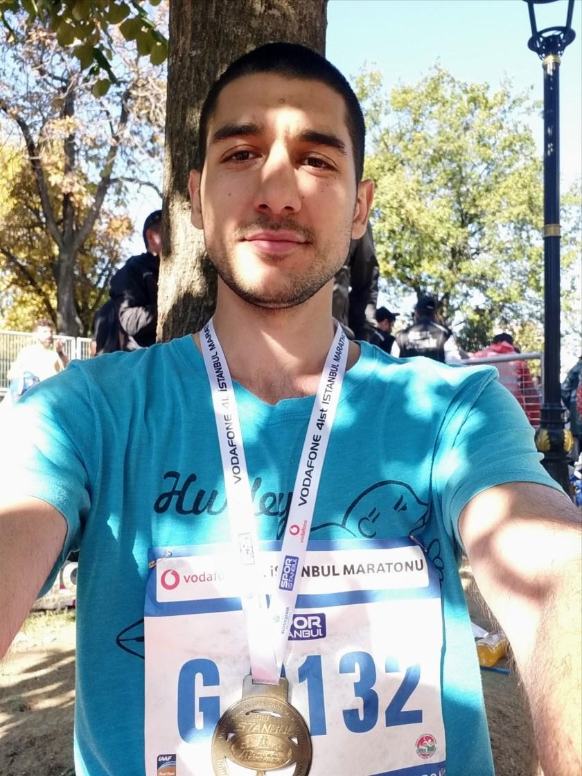Vodafone İstanbul Maratonu Finish