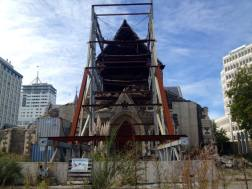 Christchurch cathedral in Cathedral Square