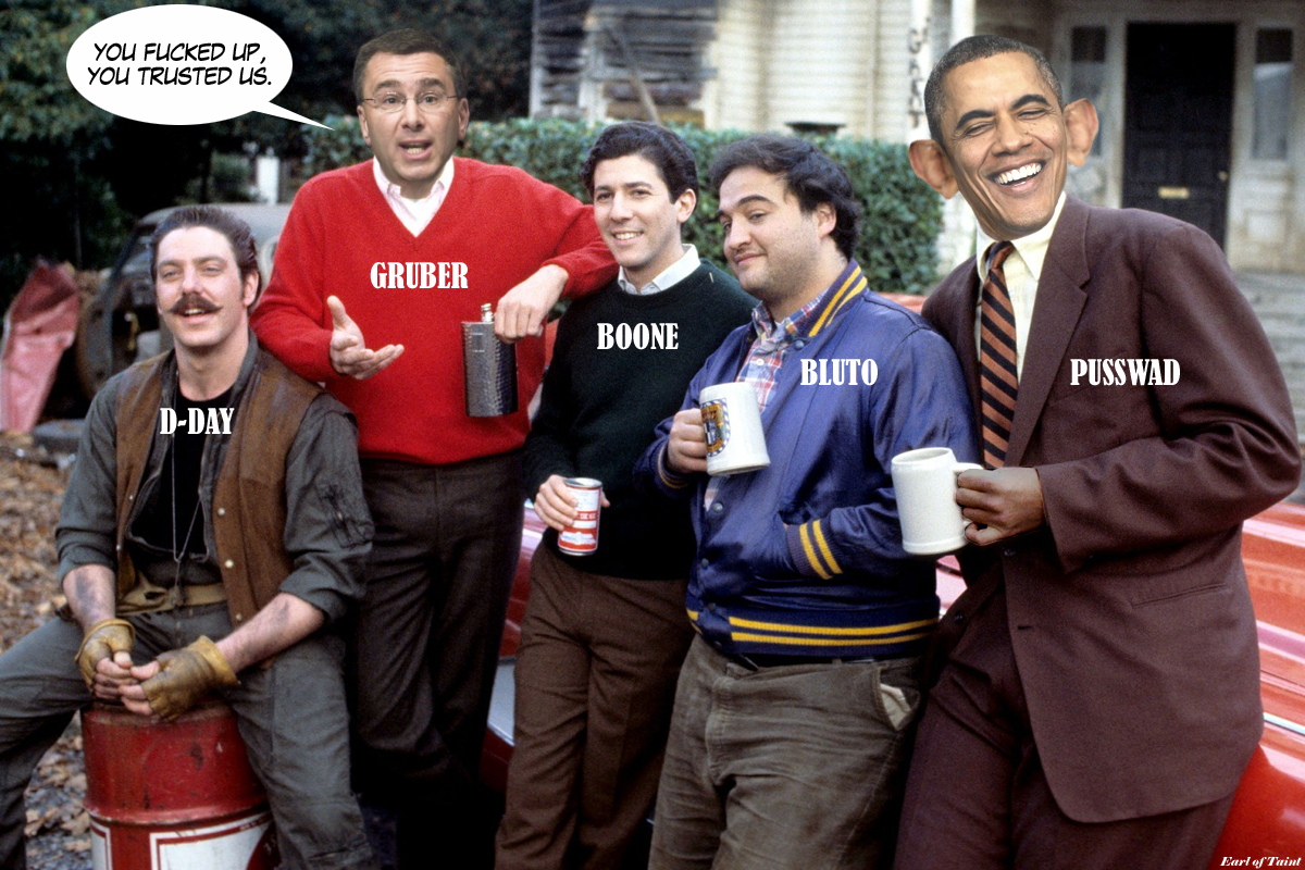 Animal House   WELCOME TO THE RIGHTLY GUIDED  Key Obamacare Architect Tells The Truth