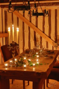 Candlelight Dinner im Harz - The Barn in Earl's Lane
