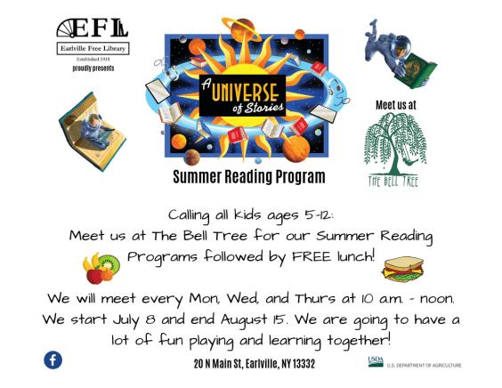 Summer Reading Program | Earlville Free Library