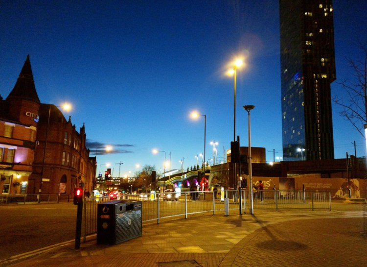 Beetham Tower Night
