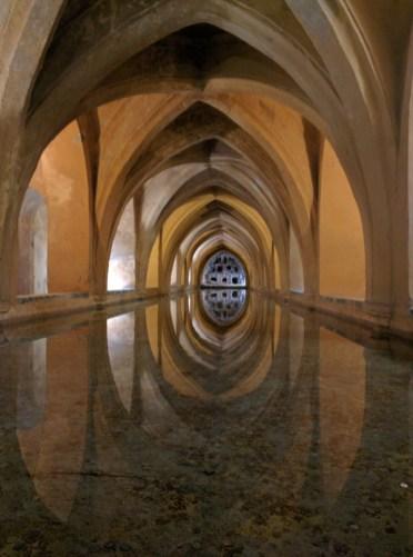 Alcazar Sevilla Grotte