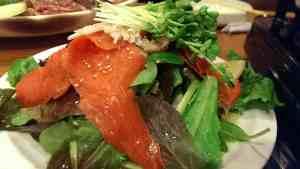 Smoked Salmon Seaweed Salad