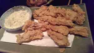 Deep-fried chicken cartilage (NT$200)
