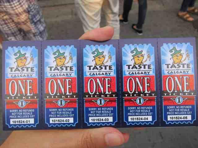 taste of calgary tickets