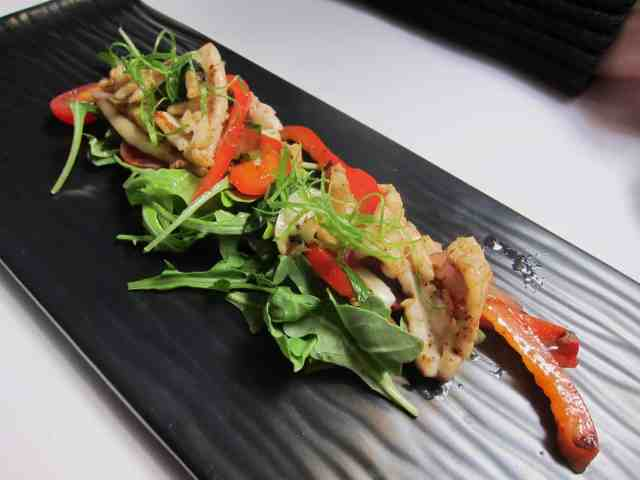 thai chili calamari lava dining calgary