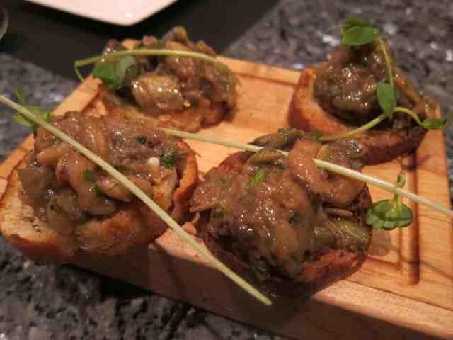 eggplant bruchetta
