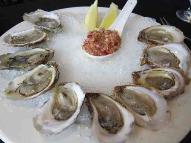 malpeque cocktail oysters