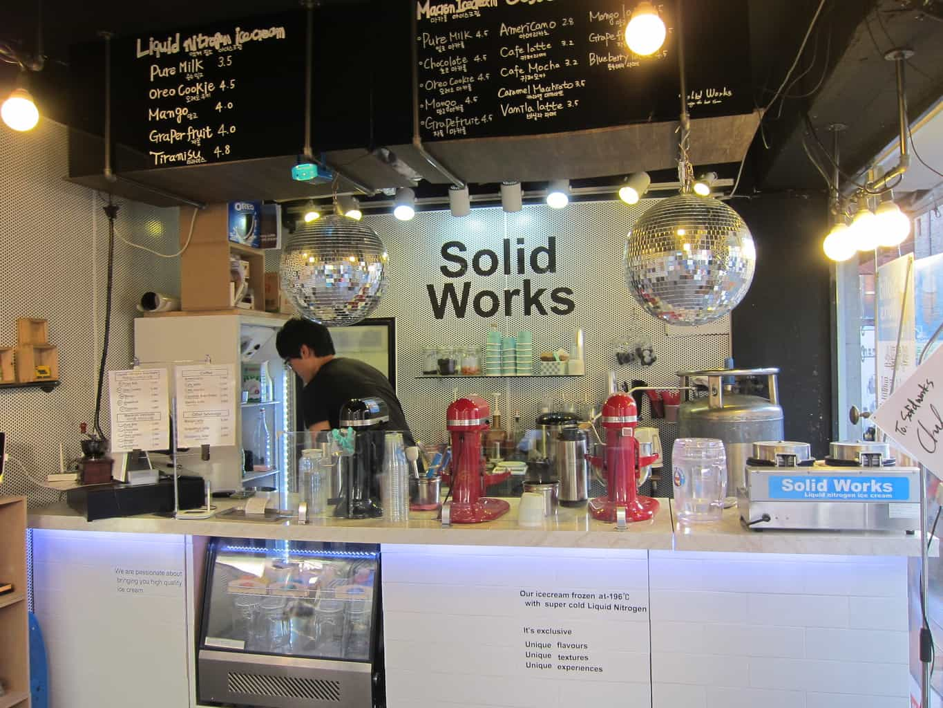 [Seoul] The newest Korean dessert: Liquid Nitrogen Ice ...