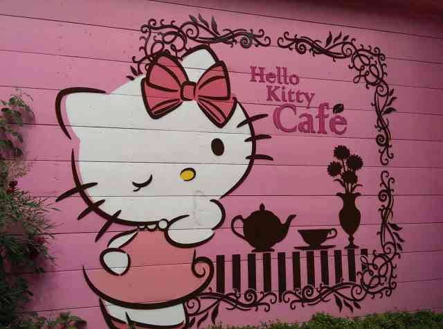 Hello Kitty Cafe Seoul 2
