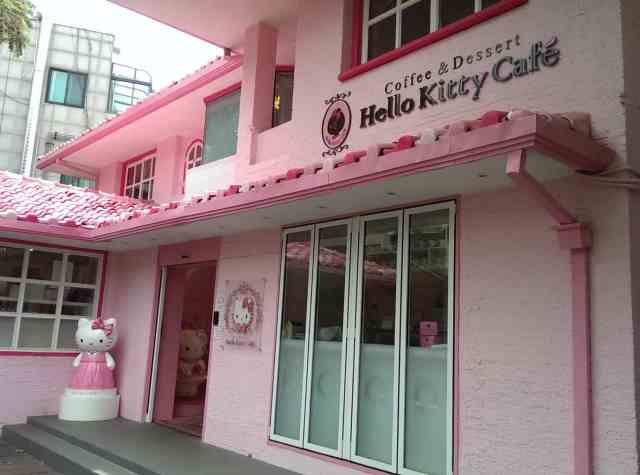 Hello Kitty Cafe Seoul 3