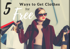 5 Ways to Get Clothes for Free