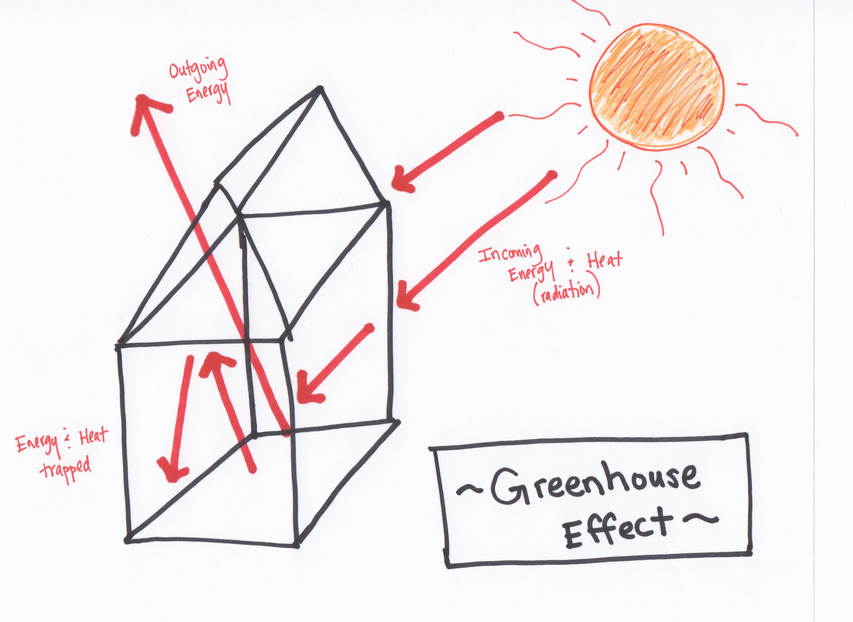 Greenhouse Effect Diagram Worksheet