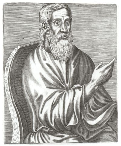 Portrait of Clement of Alexandria