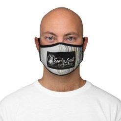 """VCR"" Branded – Fitted Polyester Face Mask"