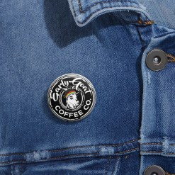 Black Badge PRIDE Custom Pin Buttons