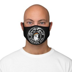 Black Badge PRIDE Fitted Polyester Face Mask