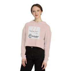Unisex Cropped Hooded Sweatshirt