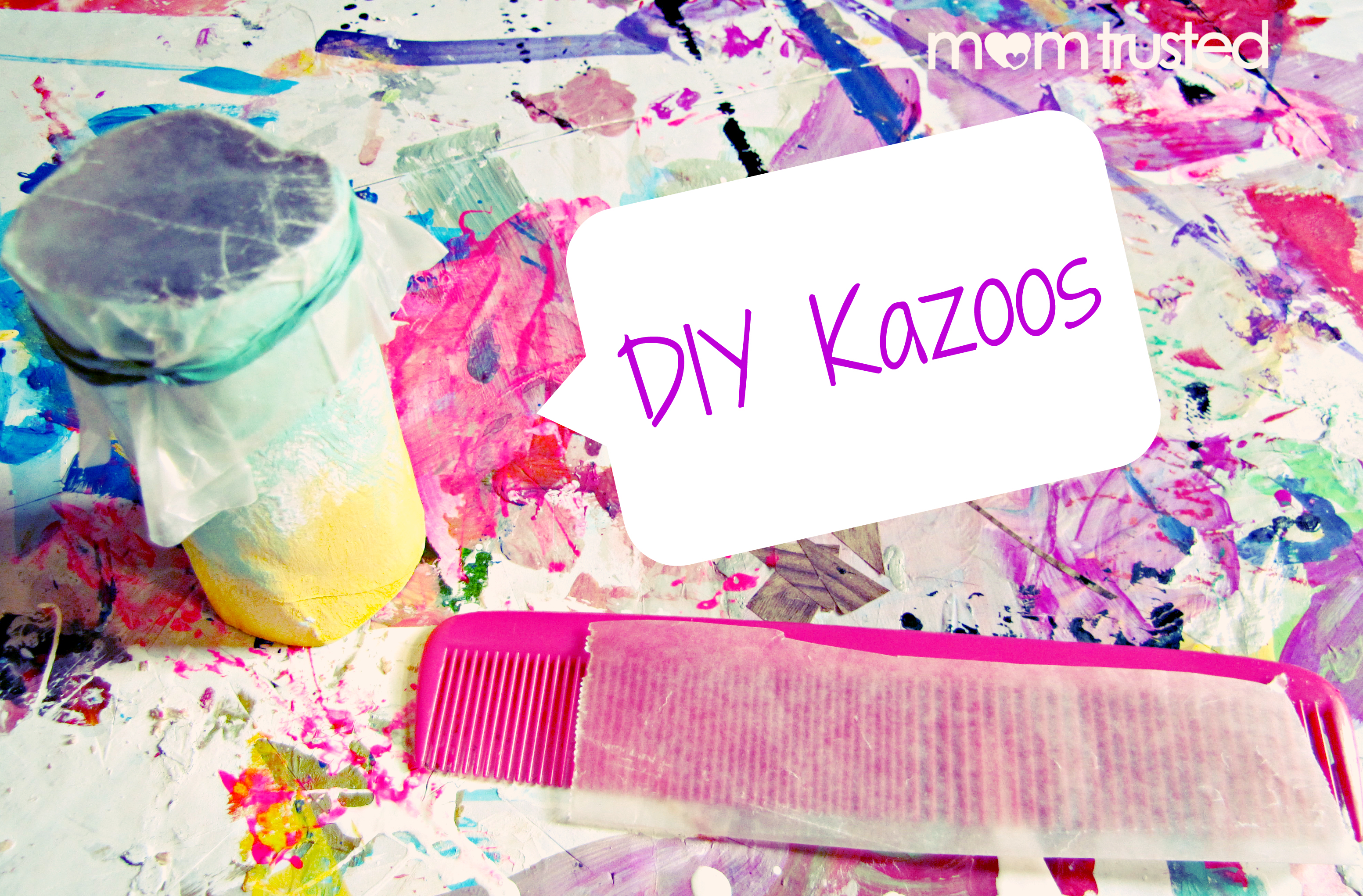 Diy Kazoos How To Make 2 Kinds Of Kazoo At Home