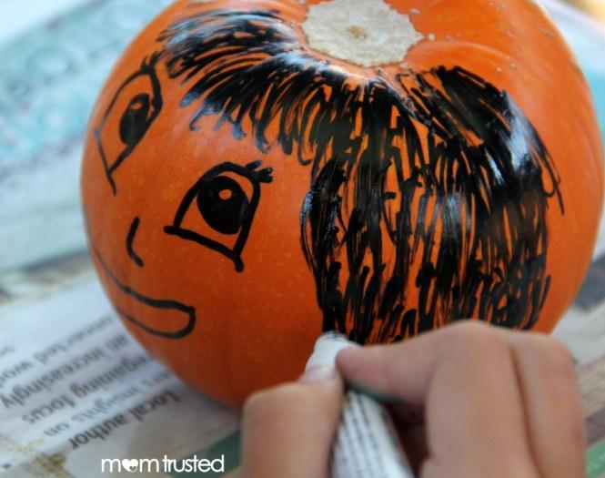 Paint Pen Pumpkin Decorating Pumpkins By Momtrusted 1 Wm 1024x732