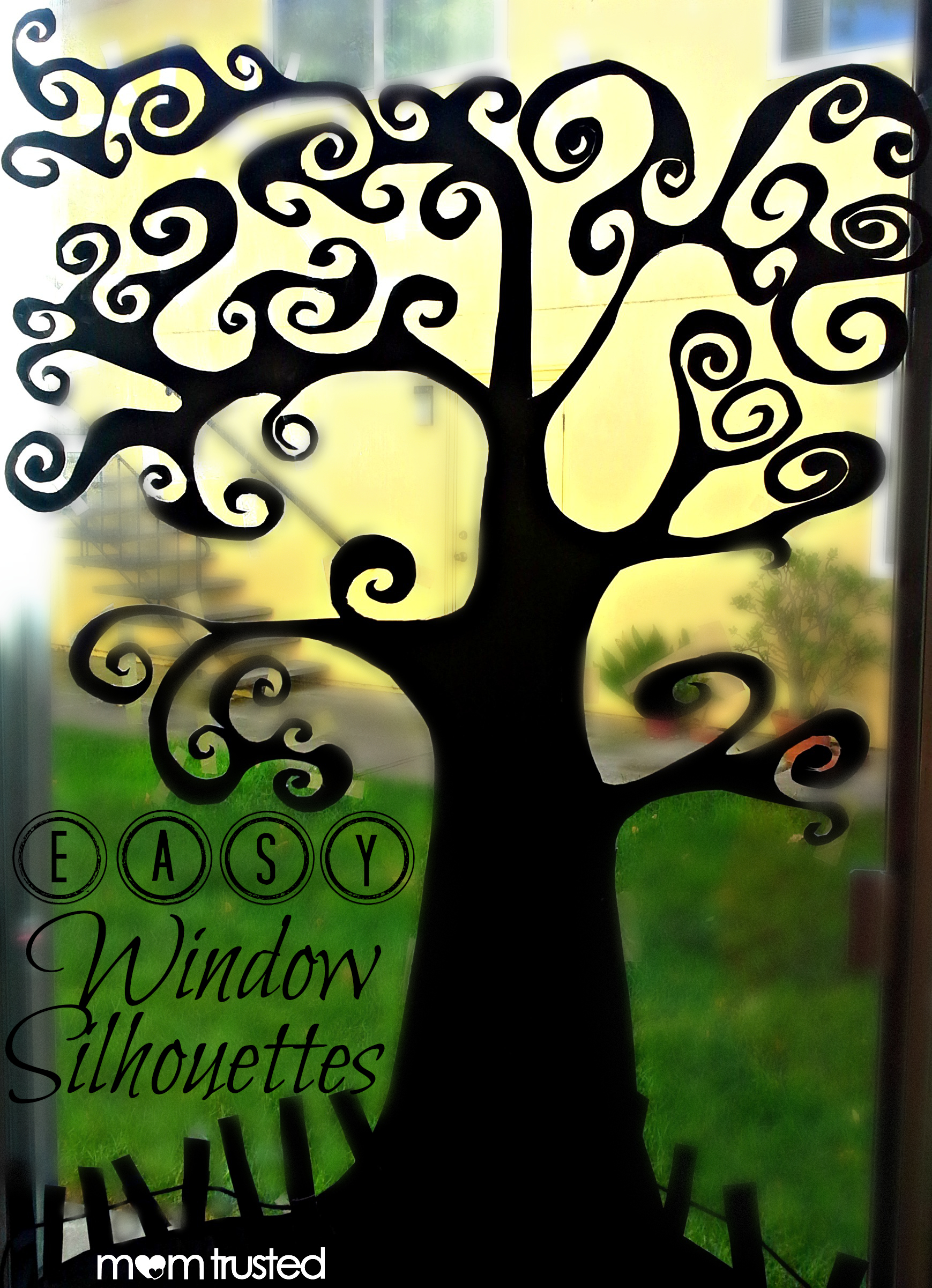 Easy Window Silhouettes