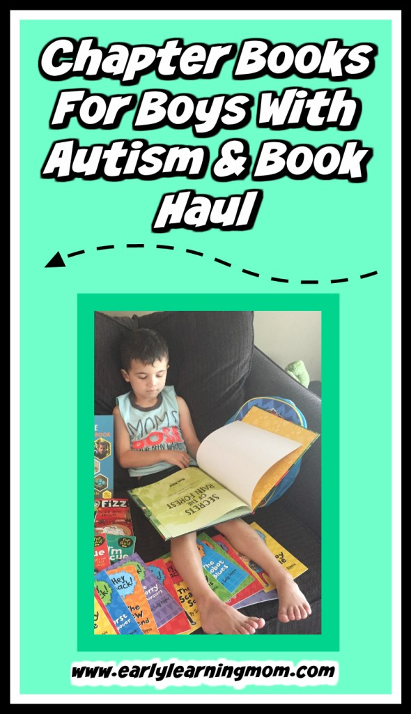 Chapter Books For Boys With Autism & Book Haul