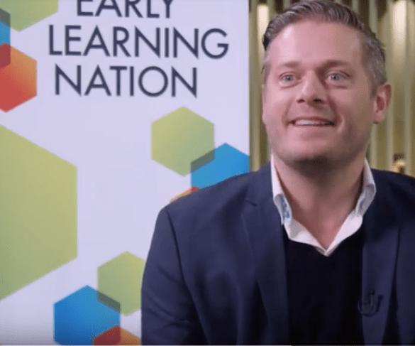 Kasper Ottosson Kanstrup of the Lego Foundation
