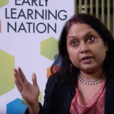For many children in India, getting to early education centers is impossible while their parents work long hours at often temporary jobs. So what if early education centers traveled to kids instead? Executive Director Sumitra Mishra describes how Mobile Creches has been doing just that for nearly 50 years.