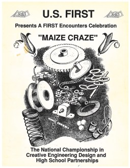 The cover of the 1992 FIRST brochure