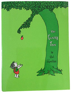 """The Giving Tree,"" by Shel Silverstein"