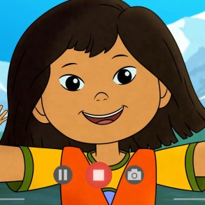 Molly of Denali takes a selfie with her friends
